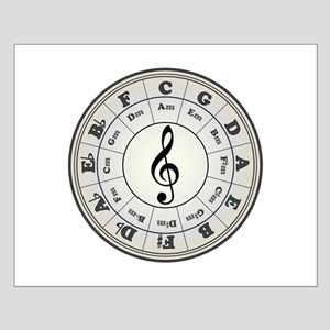 """Pearl"" Circle of Fifths Small Poster"