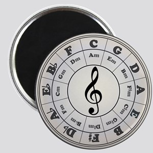 """Pearl"" Circle of Fifths Magnet"