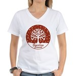 Genealogy Season Women's V-Neck T-Shirt