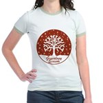 Genealogy Season Jr. Ringer T-Shirt