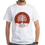 Genealogy Season White T-Shirt