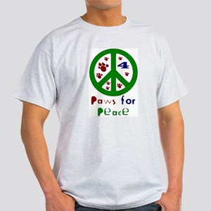 Koy's Logo + Green Paws.. Ash Grey T-Shirt