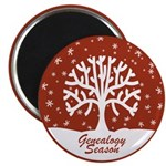 Genealogy Season Magnet