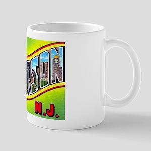 Paterson New Jersey Greetings Mug