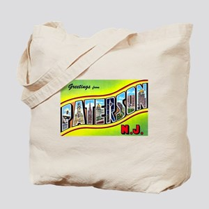 Paterson New Jersey Greetings Tote Bag