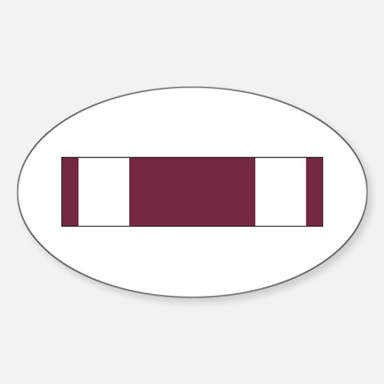 Meritorious Service Oval Decal