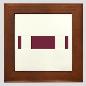 Meritorious Service Framed Tile
