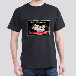 Mt Rushmore South Dakota (Front) Dark T-Shirt