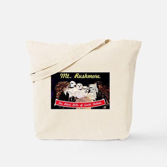 Mt Rushmore South Dakota Tote Bag