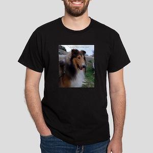 Honeytree Collies in Texas Dark T-Shirt