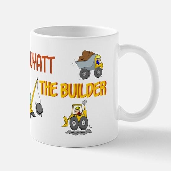 Wyatt the Builder Mug