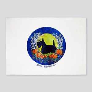 Scottie Harvest Moon 5'x7'Area Rug