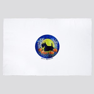 Scottie Harvest Moon 4' x 6' Rug
