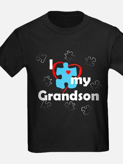 I Love My Grandson - Autism T