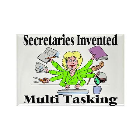 Secretaries Multi Task Rectangle Magnet (100 pack)
