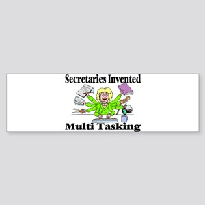 Secretaries Multi Task Bumper Sticker