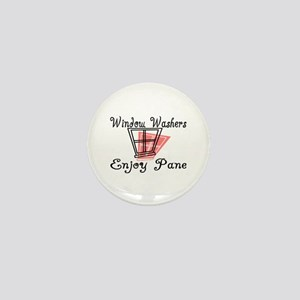 Window Washer Pane Mini Button