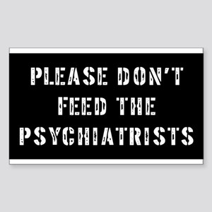 Psychiatrist Gift Rectangle Sticker