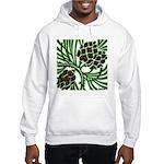 Christmas Pine Cones Hooded Sweatshirt
