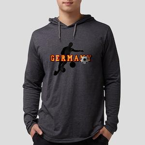 Germany Soccer Mens Hooded Shirt