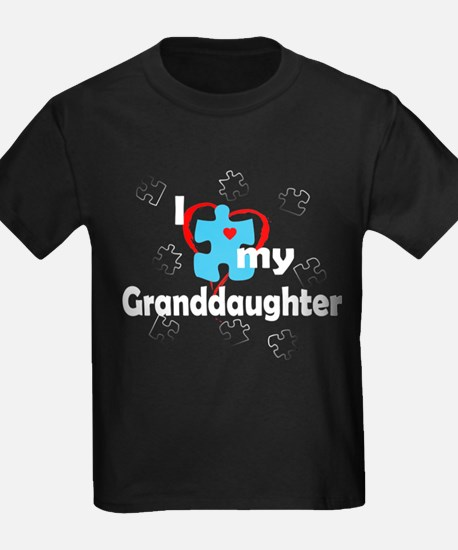 I Love My Granddaughter - Autism T