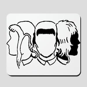 Skinhead Girls Mousepad