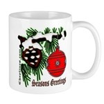 Christmas Red Ball Mug