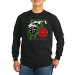 Christmas Red Ball Long Sleeve Dark T-Shirt