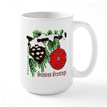 Christmas Red Ball Large Mug