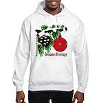 Christmas Red Ball Hooded Sweatshirt