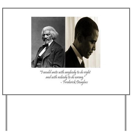 Douglass-Obama Yard Sign