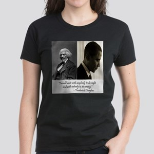 Douglass-Obama Women's Dark T-Shirt