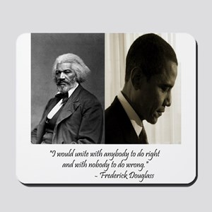Douglass-Obama Mousepad