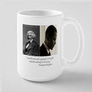 Douglass-Obama Large Mug