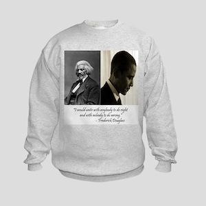 Douglass-Obama Kids Sweatshirt
