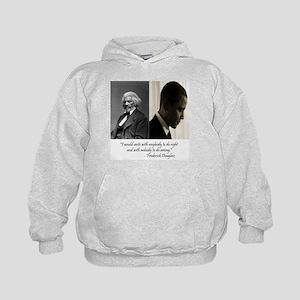 Douglass-Obama Kids Hoodie