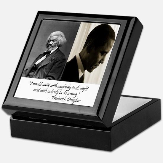 Douglass-Obama Keepsake Box