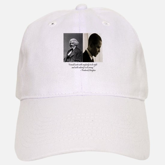 Douglass-Obama Baseball Baseball Cap