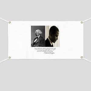 Douglass-Obama Banner