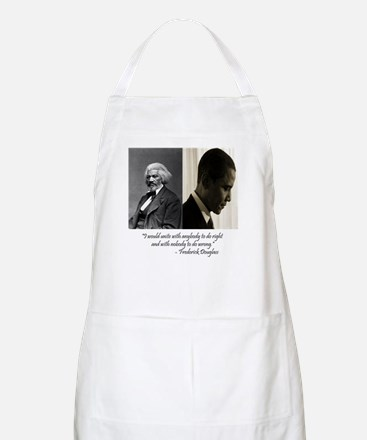 Douglass-Obama BBQ Apron