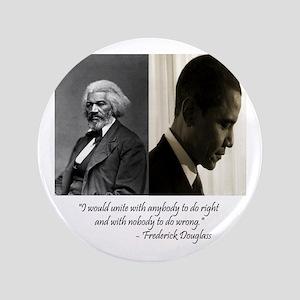 "Douglass-Obama 3.5"" Button"