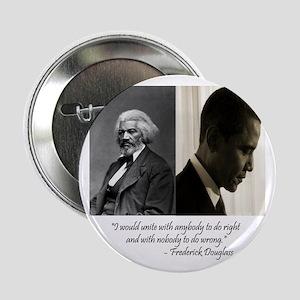"Douglass-Obama 2.25"" Button"