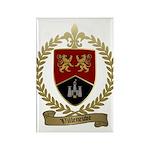 VILLENEUVE Family Rectangle Magnet (100 pack)