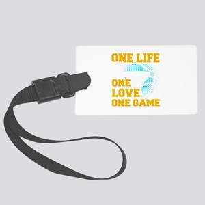 Basketball Sports Player One Lif Large Luggage Tag