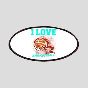 Basketball Sports Player I Love Basketball G Patch