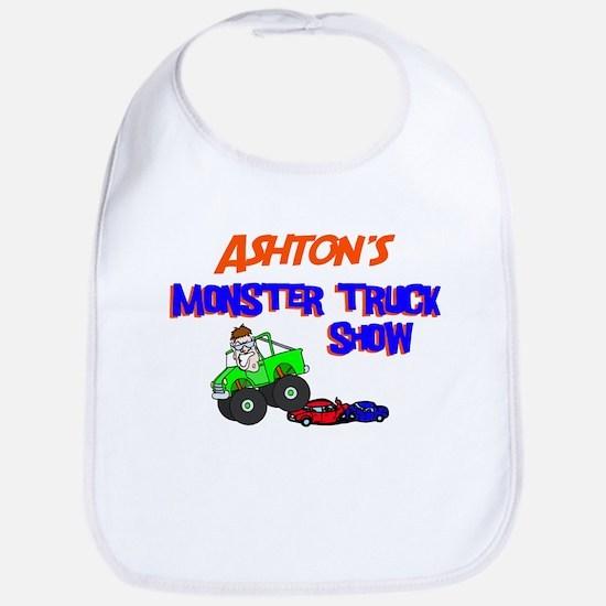 Ashton's Monster Truck Bib