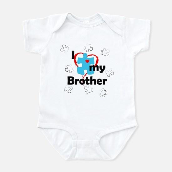 I Love My Brother - Autism Infant Bodysuit