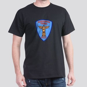 Suquamish Tribal Police Dark T-Shirt