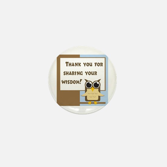 Teacher Appreciation Mini Button