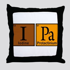 IPA Compound Throw Pillow